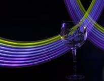 Vinexponeringsglas Arkivfoto