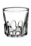 Vinexponeringsglas på vit bakgrund Arkivfoton