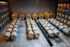 Vineyard Barrels Royalty Free Stock Image