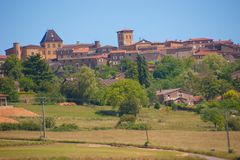 Charnay,rhone,france Stock Image
