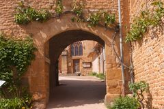 Theize,rhone,france Stock Photo