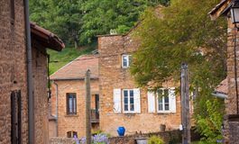 Charnay,rhone,france Stock Photography