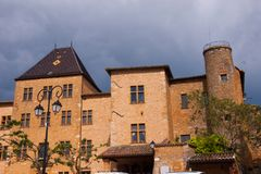 Charnay,rhone,france Royalty Free Stock Photo
