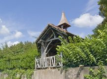 Vineyard chapel Royalty Free Stock Images