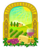 Vineyard Clip-art Royalty Free Stock Photo