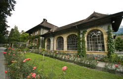 Vineyard house in Switzerland Royalty Free Stock Photo