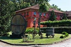 Vineyard Mansion Royalty Free Stock Images