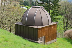 Vineyard Observatory. In  Styria, Austria Stock Photography