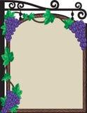 Vineyard Sign Royalty Free Stock Photo