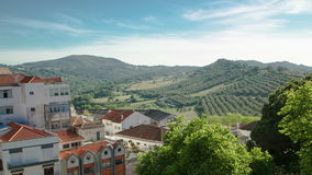 Vineyards on the Hills of Portugal with nice stock footage