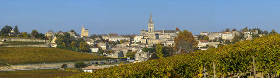 Vineyards of Saint Emilion, Bordeaux, France Royalty Free Stock Image