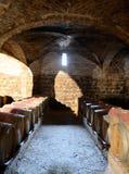 Vinfat på vinodlingen Santa Rita Royaltyfri Bild