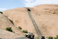 Vingança do inferno em Moab Utá fotos de stock royalty free