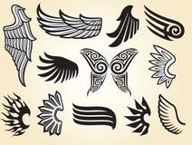 vingar vektor illustrationer