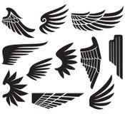 vingar stock illustrationer