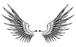 vinge 8 stock illustrationer