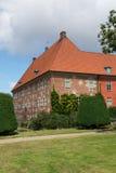 Vinge av den Krapperup slotten arkivfoto