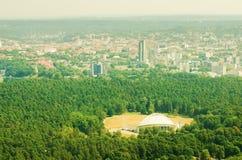 Vingio park in Vilnius Royalty Free Stock Photography