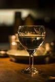 Vinglas med vin royaltyfria bilder