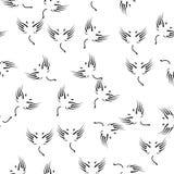 vinglinje symbol i modellstil En av ängel- och demonsamlingssymbolen kan användas för UI, UX på vit bakgrund vektor illustrationer