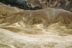 Vingt mule Team Canyon au parc national de Death Valley Image libre de droits
