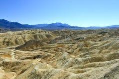 Vingt mule Team Canyon Road, Death Valley Photos libres de droits