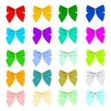 Vingt proues de couleur Image stock