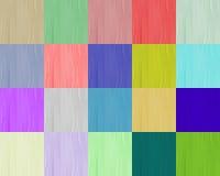 Vingt textures de collour Photo stock