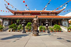 Vinh Nghiem Temple, Ho Chi Minh imagens de stock