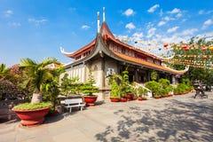Vinh Nghiem Temple, Ho Chi Minh stock photography