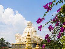 Vinh Trang Pagoda. In Vietnam stock photos