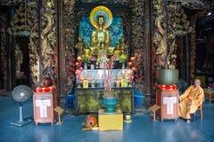 Vinh Trang Pagoda, Vietnama Stock Photography