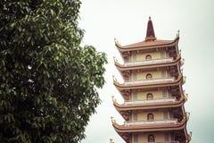 Vinh Tranh Pagoda in My Tho, the Mekong Delta, Vietnam.  royalty free stock photo