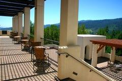 Vinhedo de Stirling, Sonoma e Napa Valley, Califórnia fotografia de stock