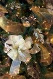 Vinheta da árvore de Natal Imagem de Stock Royalty Free