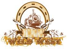 Vinheta ocidental selvagem II ilustração royalty free