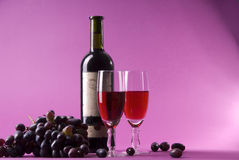 Vinho Foto de Stock Royalty Free