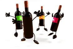 Vinho ilustração stock