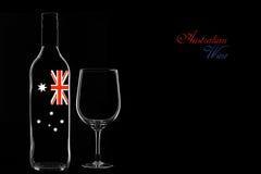 Vinho australiano Foto de Stock
