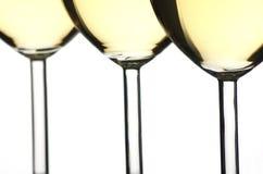 Vinho branco Fotografia de Stock