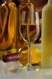 Vinho branco Imagem de Stock Royalty Free