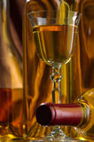 Vinho branco Foto de Stock