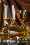 Vinho branco Imagens de Stock Royalty Free