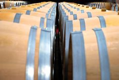 Vinho cellars02 imagens de stock royalty free