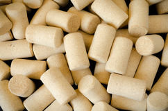 Vinho Cork Background Fotografia de Stock