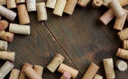 Vinho da cortiça Foto de Stock