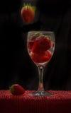 Vinho da morango Imagens de Stock Royalty Free