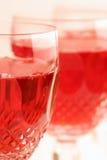 Vinho de Rosé Foto de Stock Royalty Free