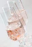 Vinho de Rosa Imagens de Stock Royalty Free