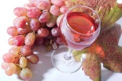 Vinho de Rosa Fotos de Stock